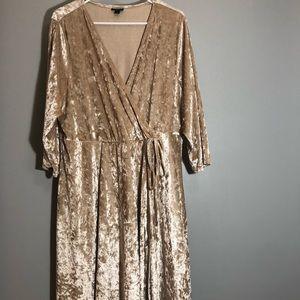Torrid Mock Wrap Front Dress